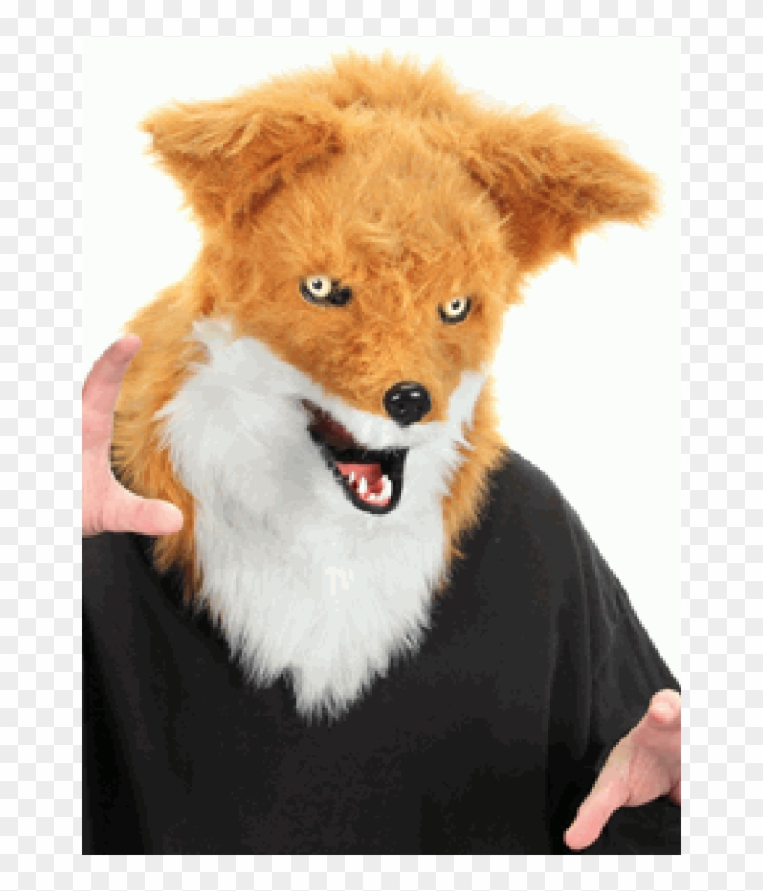 Furry Fox Mouth Mover Mask At Cosplay Costume Closet - Mouth