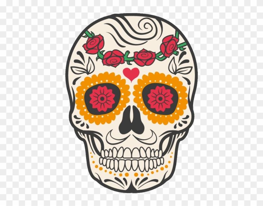 Cuisine Mexican Skull Mexico Calavera Dead Human Clipart Crane Fete Des Morts Mexique Hd Png Download 600x600 1146676 Pngfind