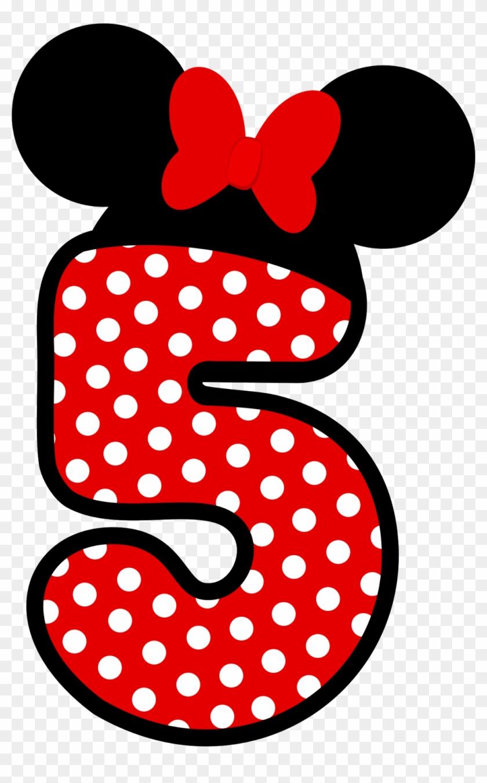 0f505b847 Clique Na Imagem Para Ampliar E Só Depois Mande Salvar - Numero 3 Minnie  Vermelha Png
