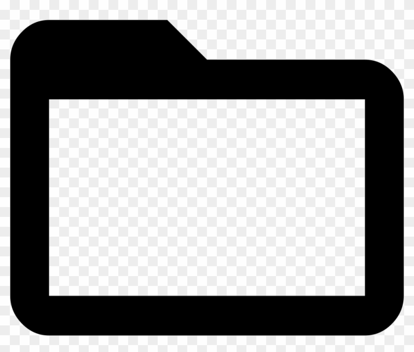 Png File Svg Folder Icon Black And White Transparent Png 982x788 1148425 Pngfind