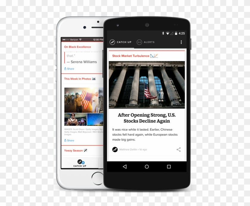 Buzzfeed Rolls Out Breaking News App - News App Material