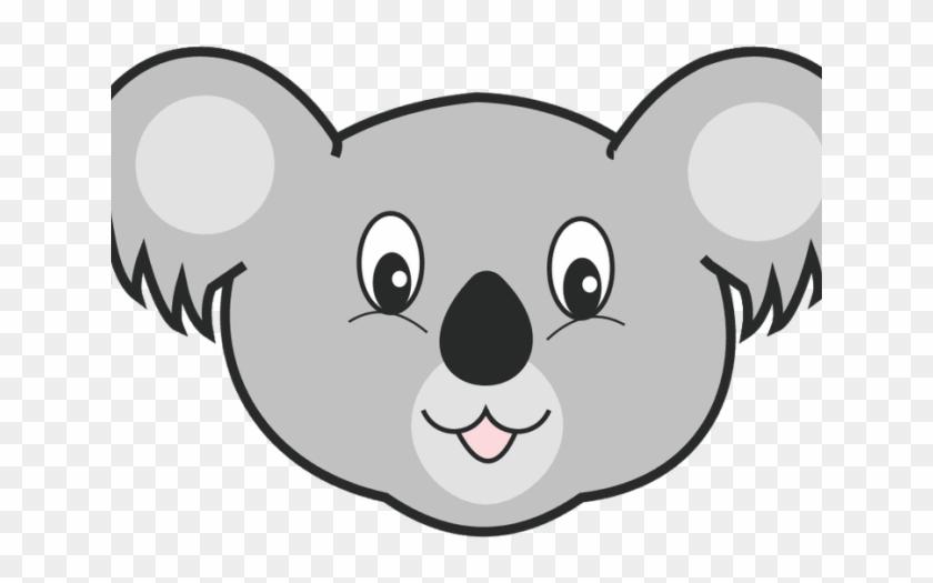 Koala Clipart Gambar Koala Cartoon Head Hd Png Download 640x480