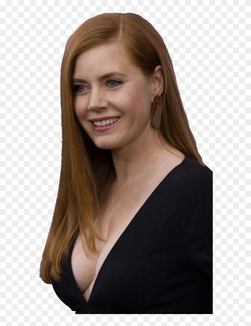 Amy Adams Party Dress Side View - Down Blouse Of Red Heads