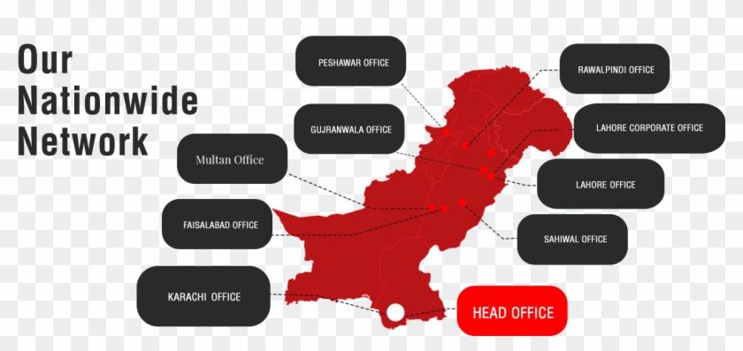 Moonstar Enamelled Copper Wire - Pakistan Map Showing
