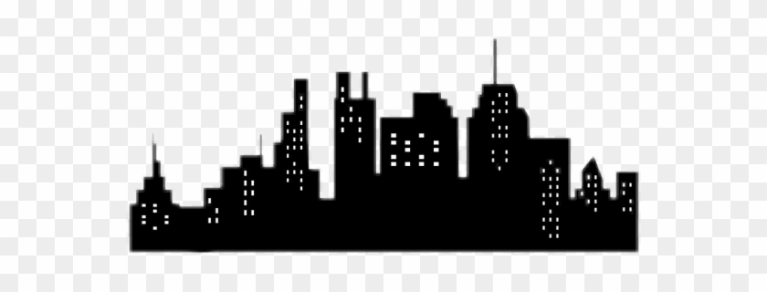 Buildings Sticker - City Silhouette Vector, HD Png Download