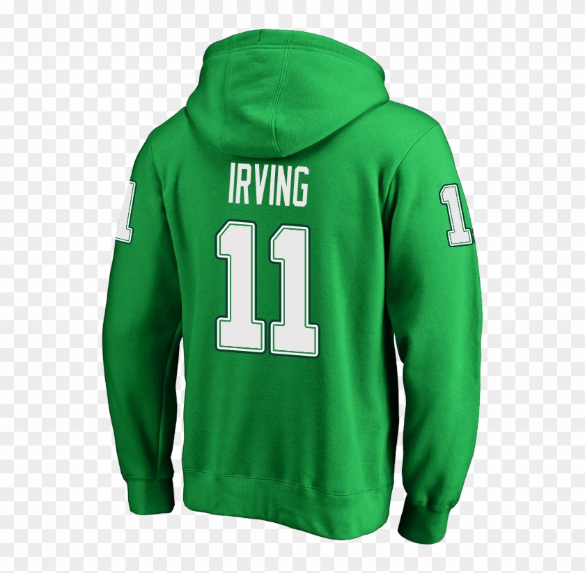 detailed look 503f4 dd1f6 Boston Celtics Kyrie Irving Men's Green St - Hoodie, HD Png ...