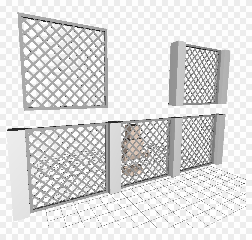 7c61e856d Top Left Is 1x6x5 Fence Brick - Gucci Gg Skirt, HD Png Download ...