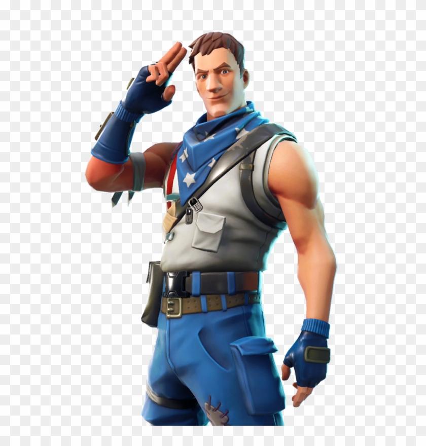 Fortnite Character Png Fortnite Star Spangled Trooper Transparent Png 1024x1024 121899 Pngfind