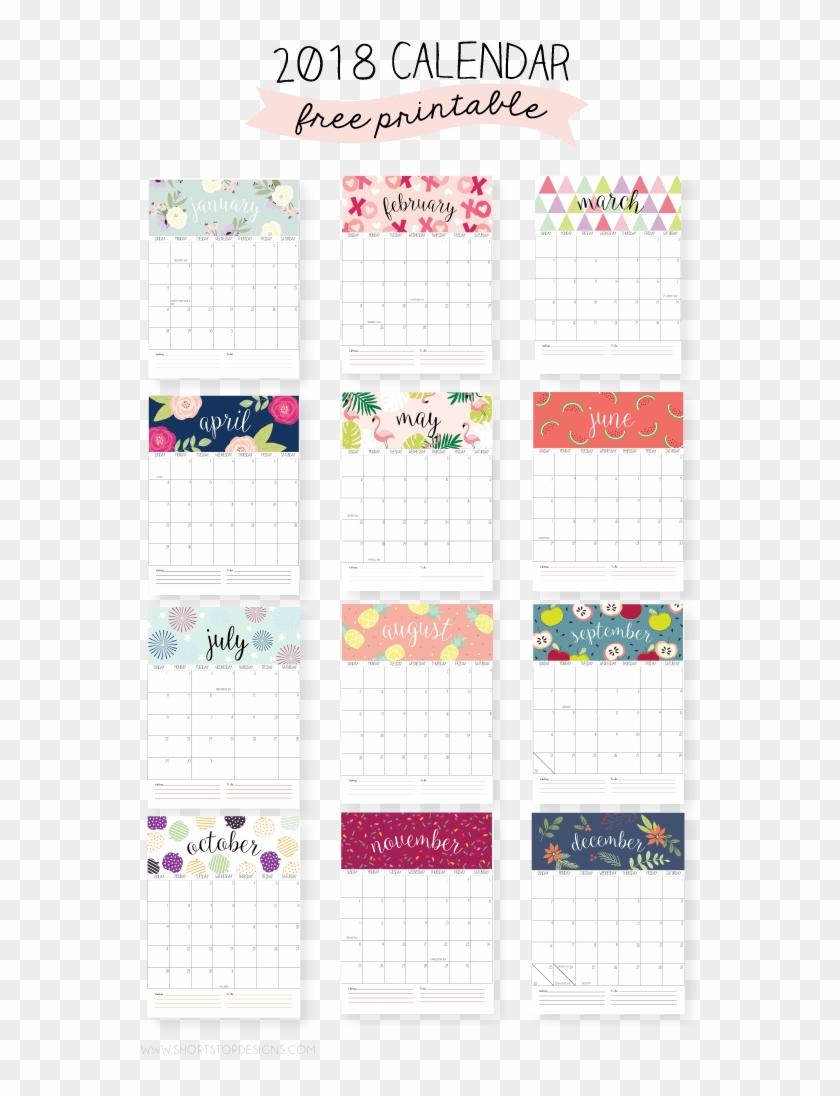 image regarding Printable Mini Calendar known as 2018 Regular monthly Printable Calendar - Cost-free Printable 2019 Mini