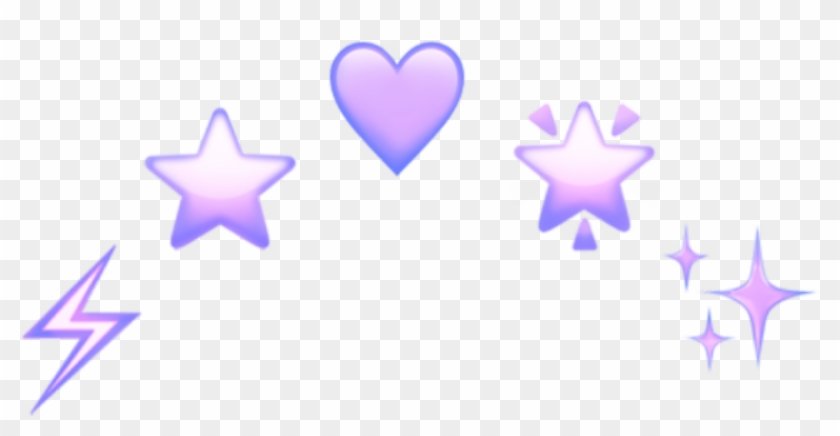 Purple Crown Crowns Emoji Emoji Aesthetic Tumblr Aesthetic Heart