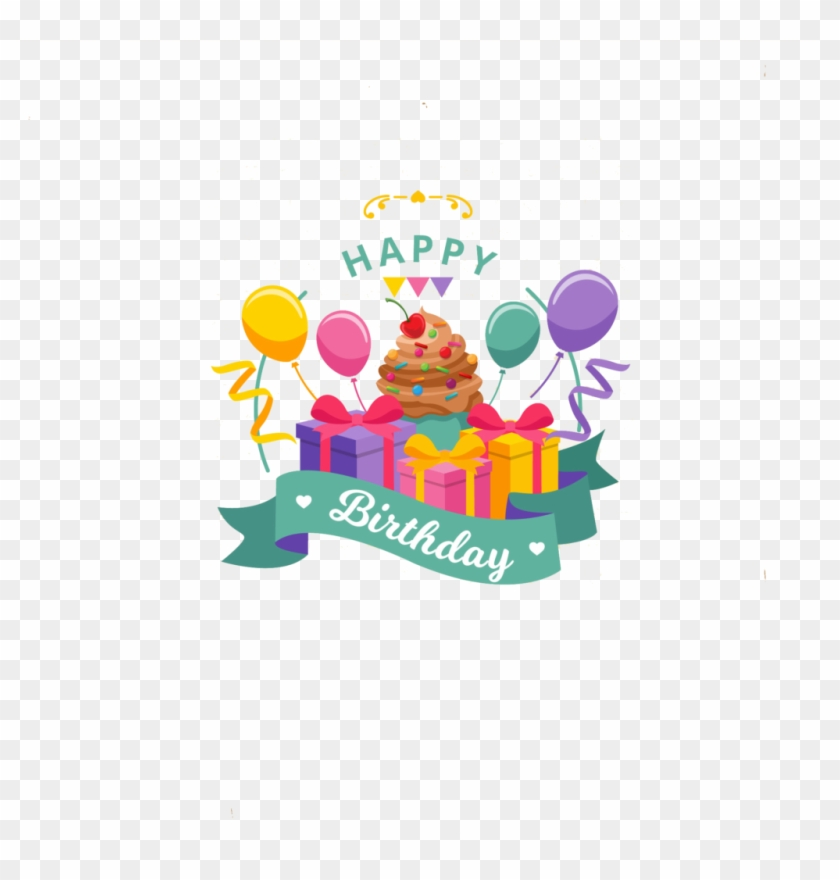 Happy Birthday Calligraphy Transparent Png