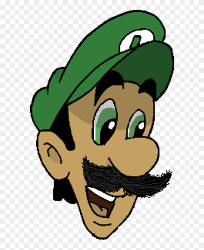 Luigi background. Clipart head transparent hd