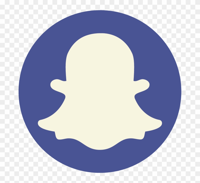 Facebook Instagram Twitter Snapchat Youtube Pink Snapchat Logo Png Transparent Png 688x689 1234627 Pngfind