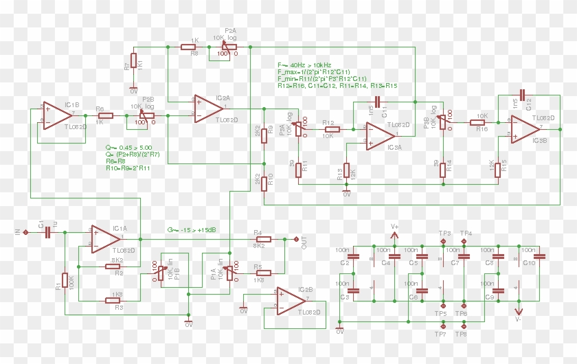 Parametric Equalizer Schematic - 3 Band Parametric Eq Schematic, HD on