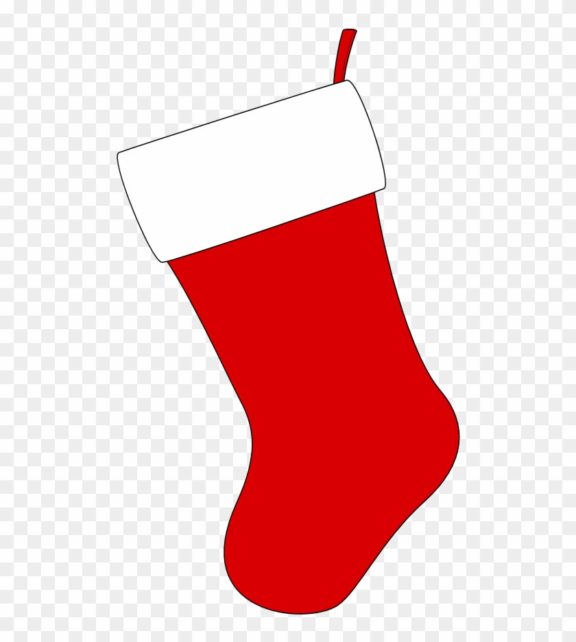 Christmas Stocking Template.Large Red Ornament Clipart Red Christmas Stocking Template