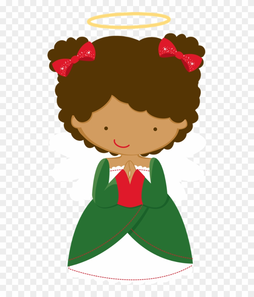 Christmas Angel African American Happy 5th Birthday Girl Hd Png