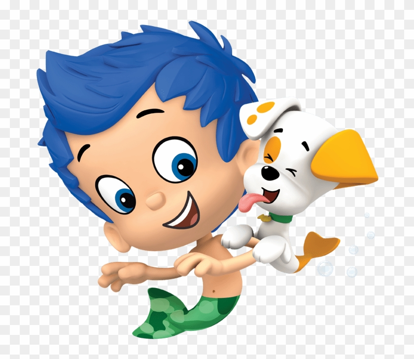 Bubble Guppies Gil And Puppy - Bubble Guppies, HD Png Download