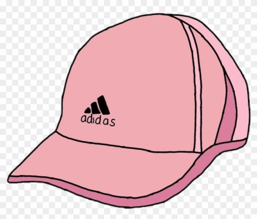 Adidas Logo Transparent Tumblr Pink Cartoon Adidas - Adidas