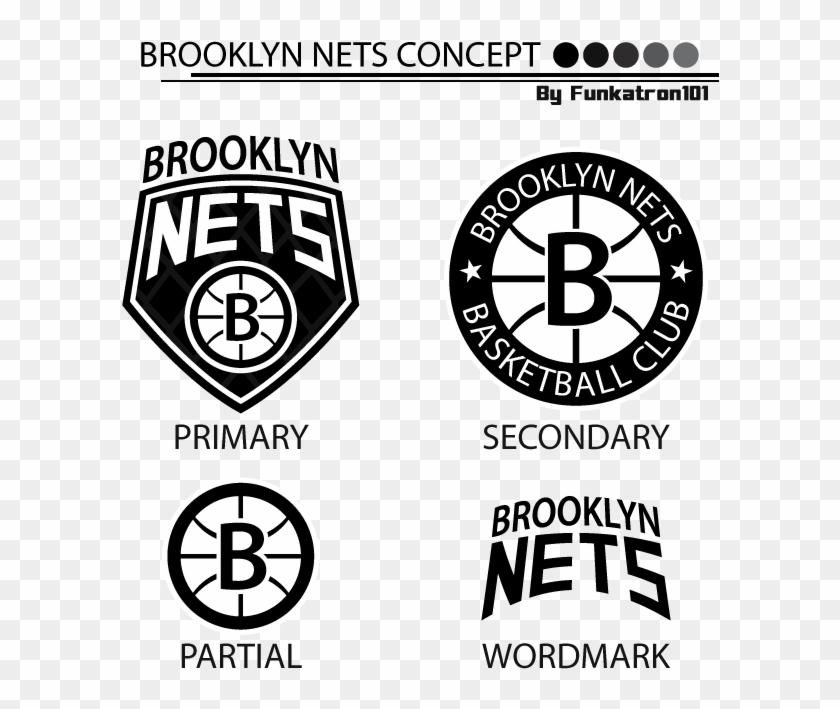 Brooklyn Nets Logo Concept Png Download Circle Transparent