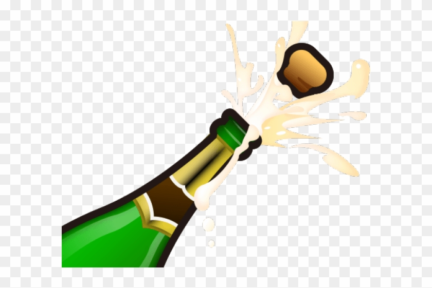 Champagne Bottle Popping Clip Art   Champagne bottle, Best champagne, Clip  art