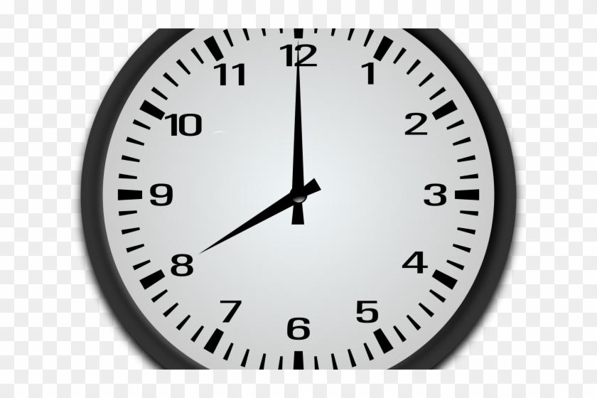 Clock Clipart 8 O Clock - Analog Clock 11 30, HD Png