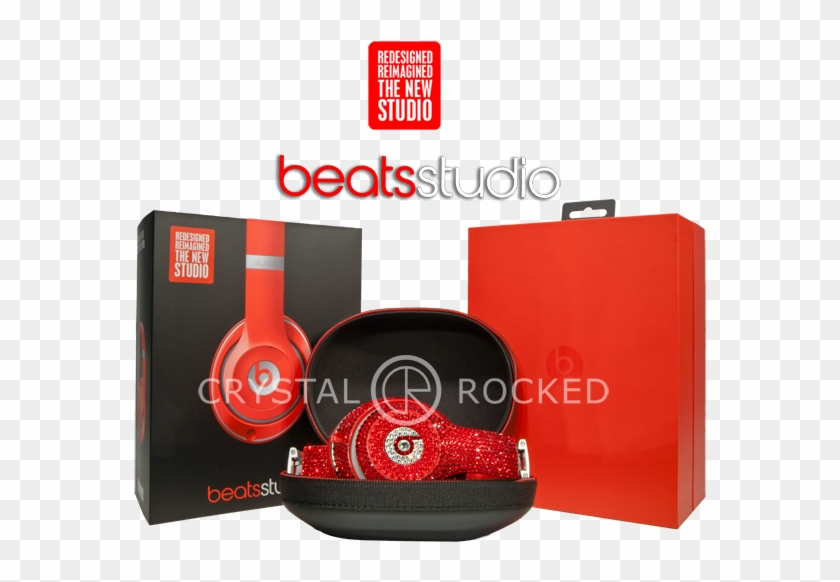 Beats Studio3 Wireless Over Ear Headphones Swarovski Beats By Dr Dre Solo Hd Package Hd Png Download 600x600 1275690 Pngfind