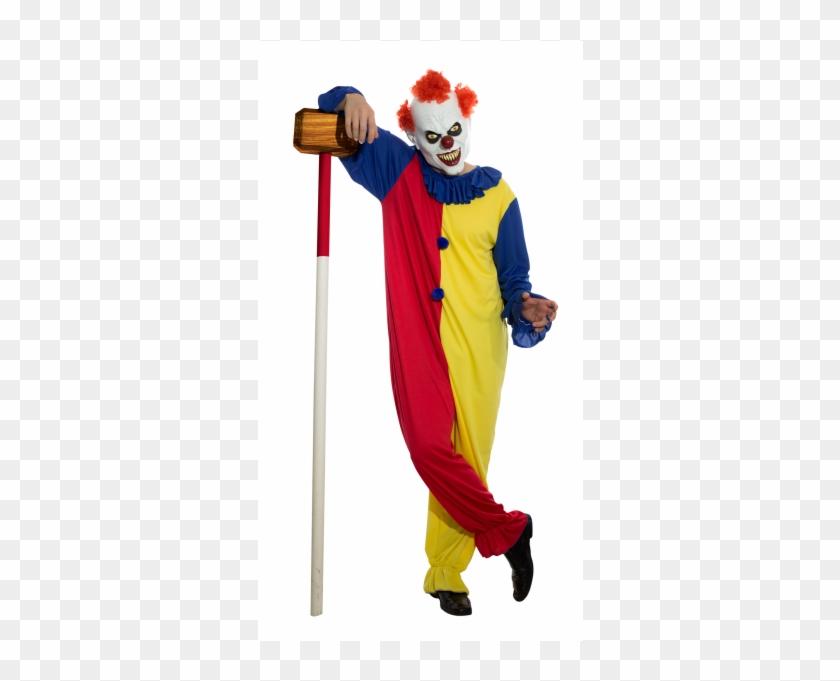Killer Clown Png Killer Clown Costume Transparent Png 600x600
