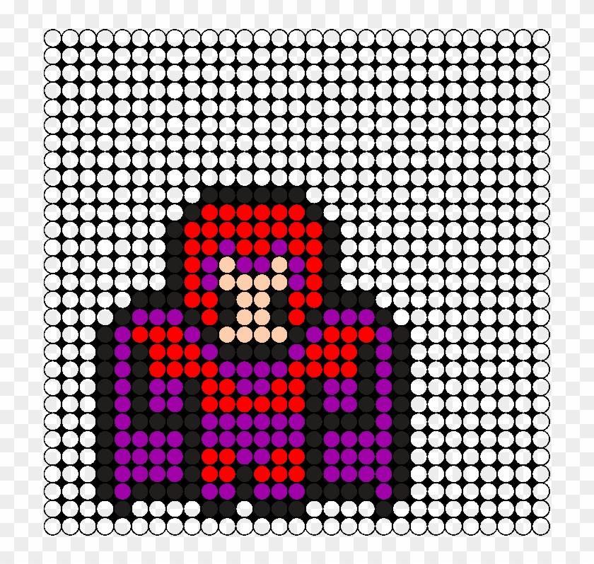 Magneto Perler Bead Pattern / Bead Sprite - Easy Cat Perler