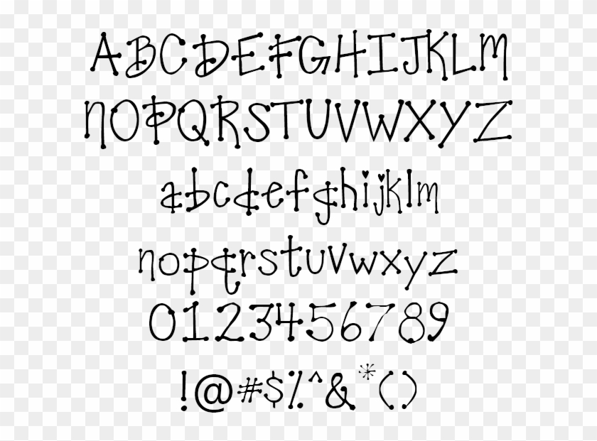 Download The Cool Dots Font For Free - Mountains Of Christmas Tipografia, HD Png Download ...