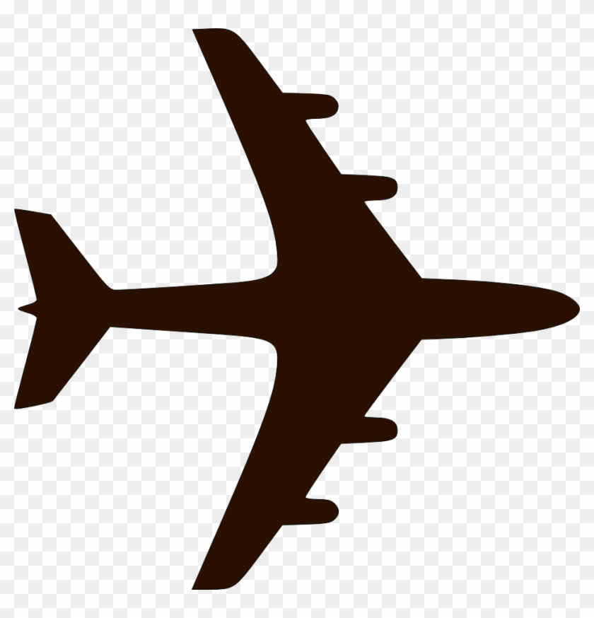 Plane Silhouette Airplane Icon Hd Png Download 936x930