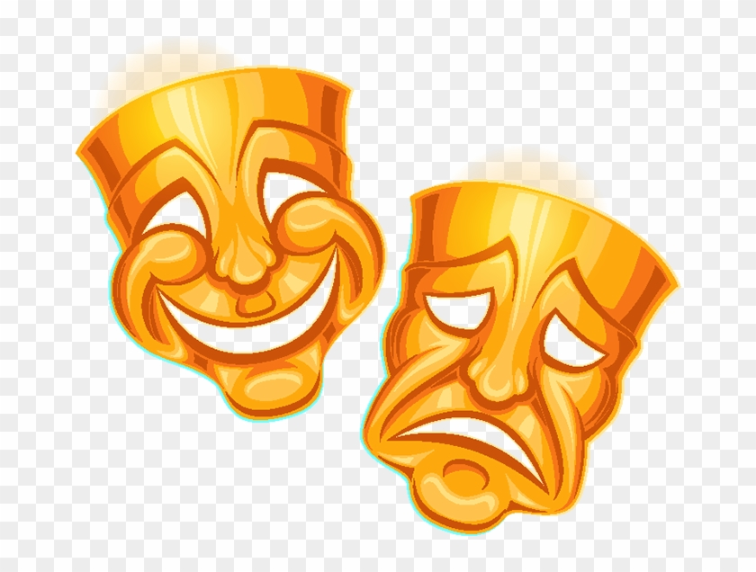 Drama Masks, HD Png Download - 800x800(#1283893) - PngFind