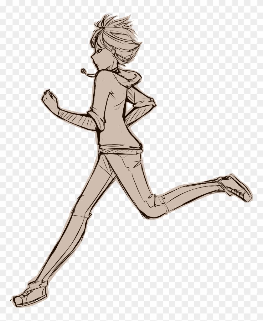 28 Collection Of Walking Drawing Base Anime Girl Walking Base Hd