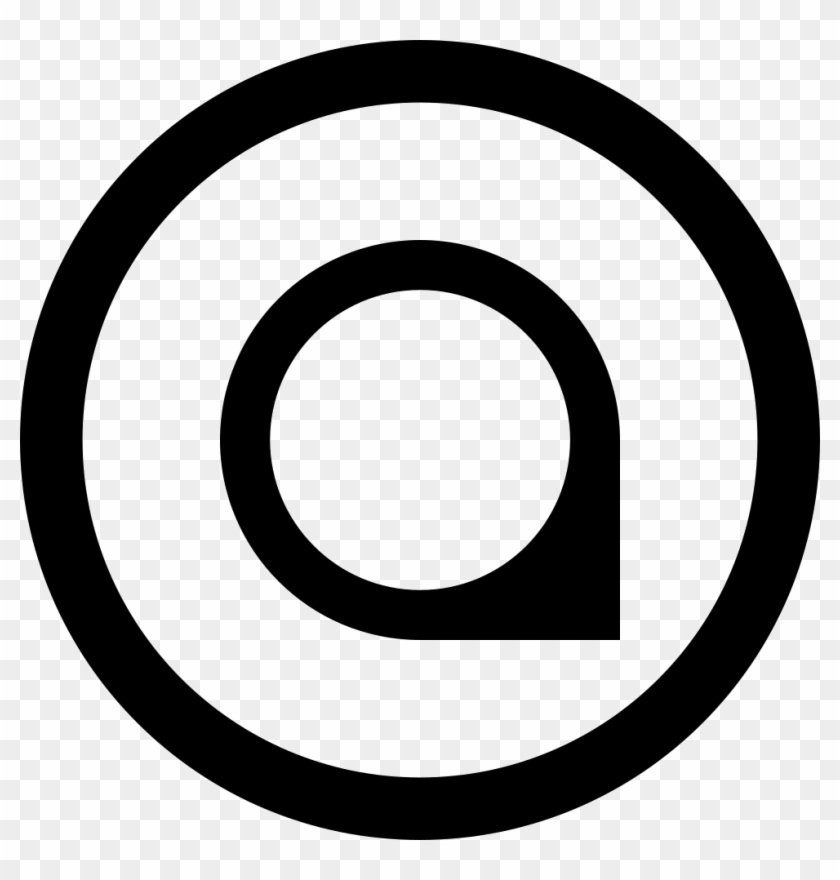 Marker In Circular Button Comments - Play Icon Png