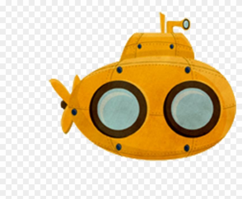 Illustrator Illustration Creative Cute - Cute Submarine ...
