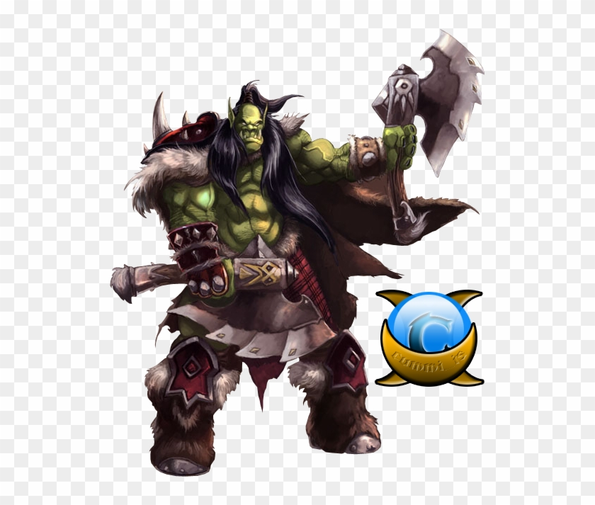 Orc - Wow Orc Gladiator, HD Png Download - 550x651(#1290310) - PngFind