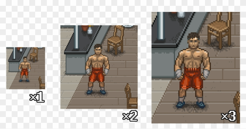 Punch Club Is Made In Pixel Art Punch Club Pixel Art Hd Png