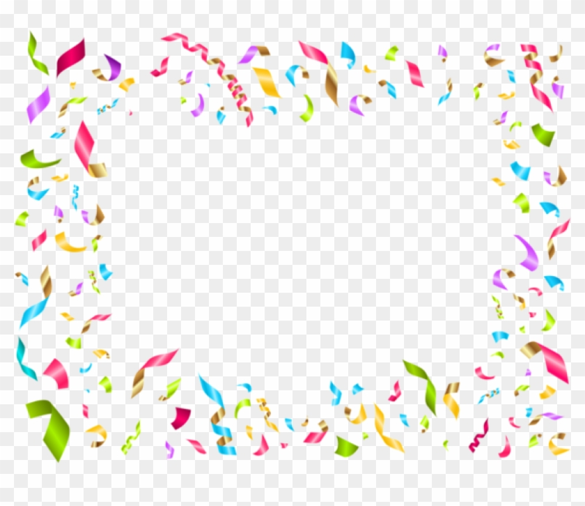 Confetti party. Free png download birthday
