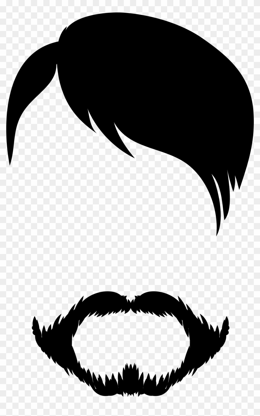 Male Hair And Beard Clip Art Gallery Yopriceville High , Png