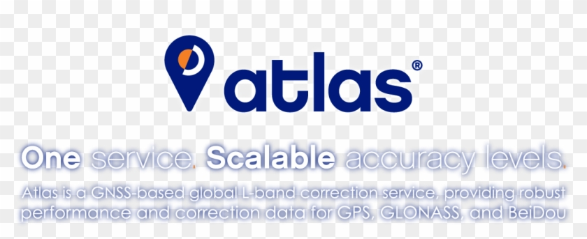 Atlas® Gnss Global Correction Service - Sign, HD Png Download