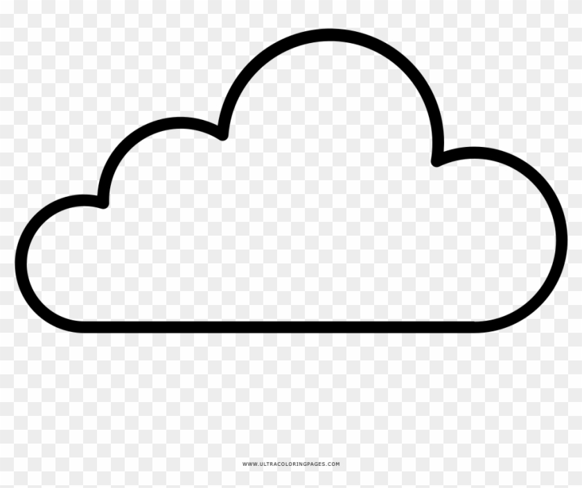 Cloud Coloring Page Ultra Pages Dream Nube Para Colorear