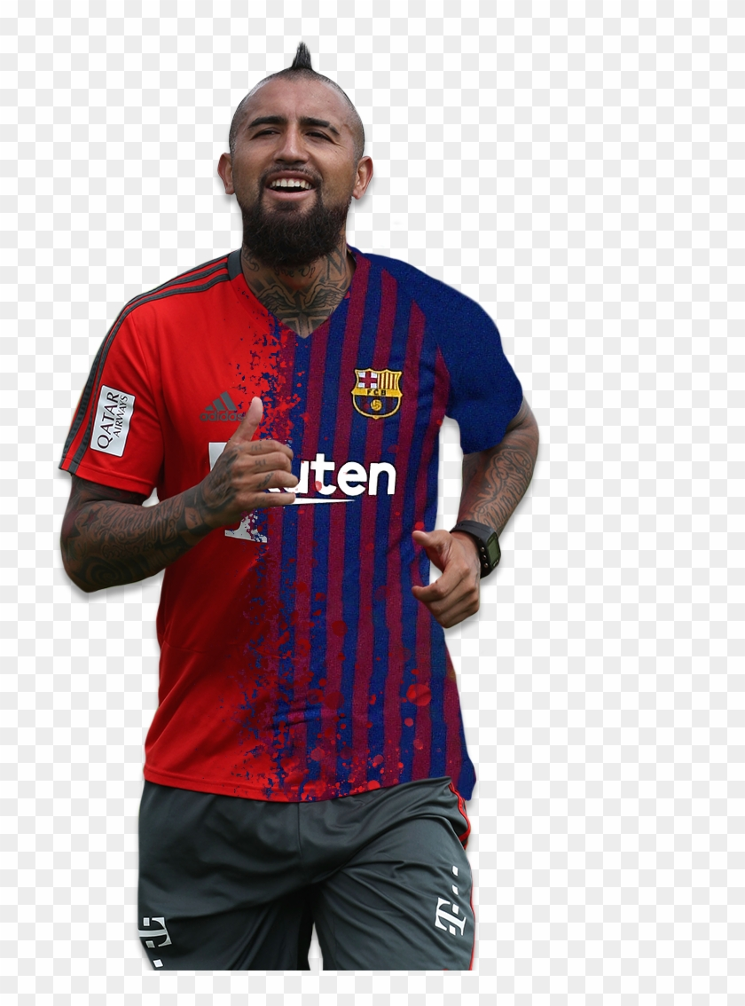 timeless design 9aed5 3e2c2 Arturo Vidal Barca Shirt, HD Png Download - 1080x1080 ...