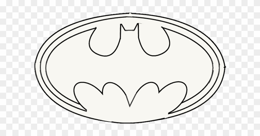 How To Draw Batman Logo Collection Of Free Drawing Cartoon Hd