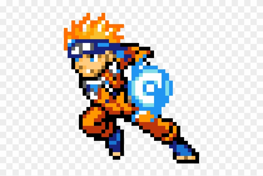 Naruto Easy Minecraft Pixel Art Naruto Hd Png Download 1200x1200 1336490 Pngfind
