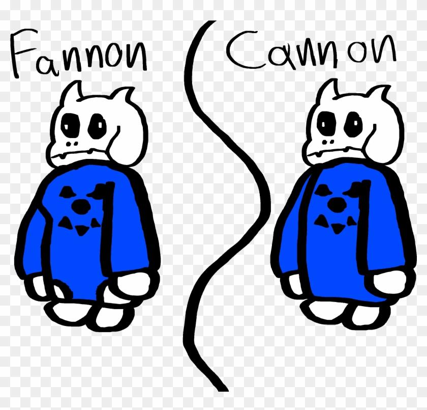 Cannon Toriel - Toriel Fanon Vs Canon, HD Png Download - 2850x2400