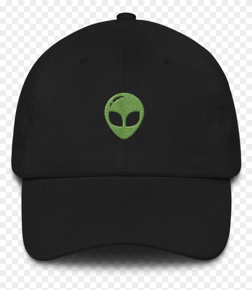 9ac1add825a7a Alien Head Green Hat - Baseball Cap