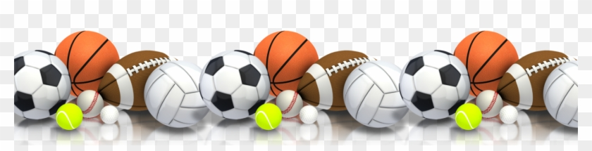 vector border frame with soccer balls. Clipart Image