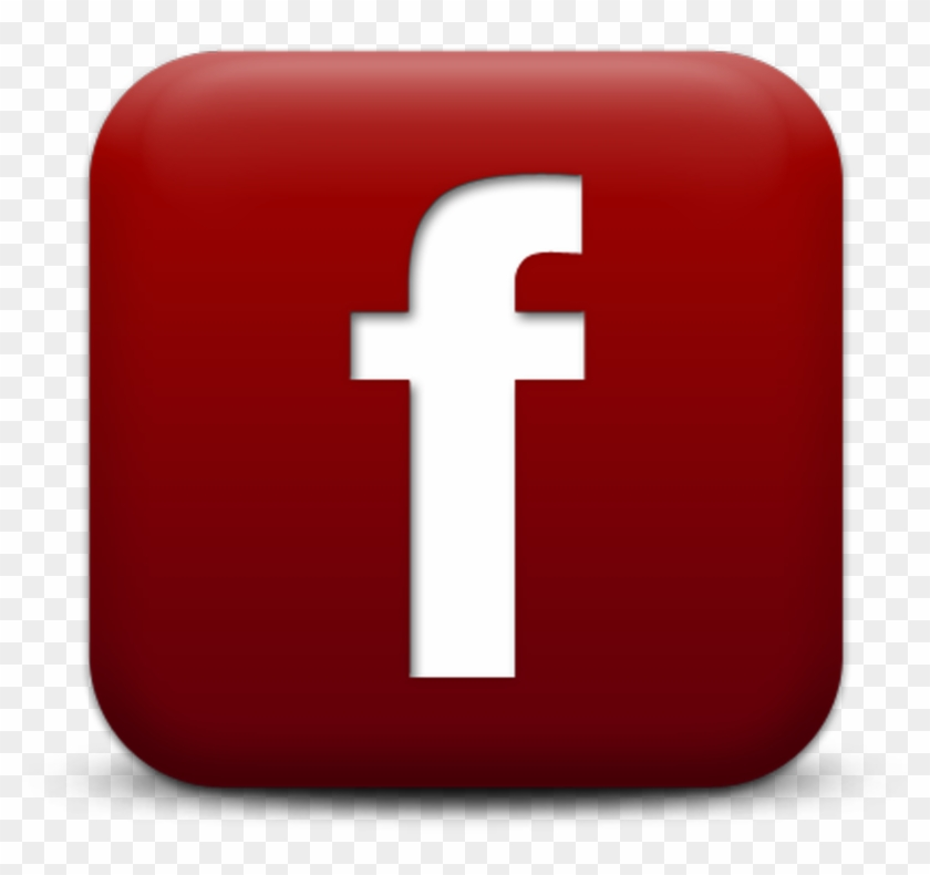Facebook Icon Dark Red, HD Png Download - 2133x2133(#1385355
