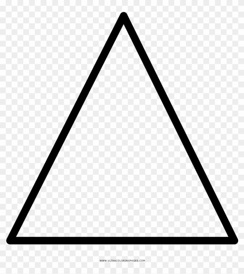 Triángulo Página Para Colorear - Desenho De Triangulo Para Colorir ...