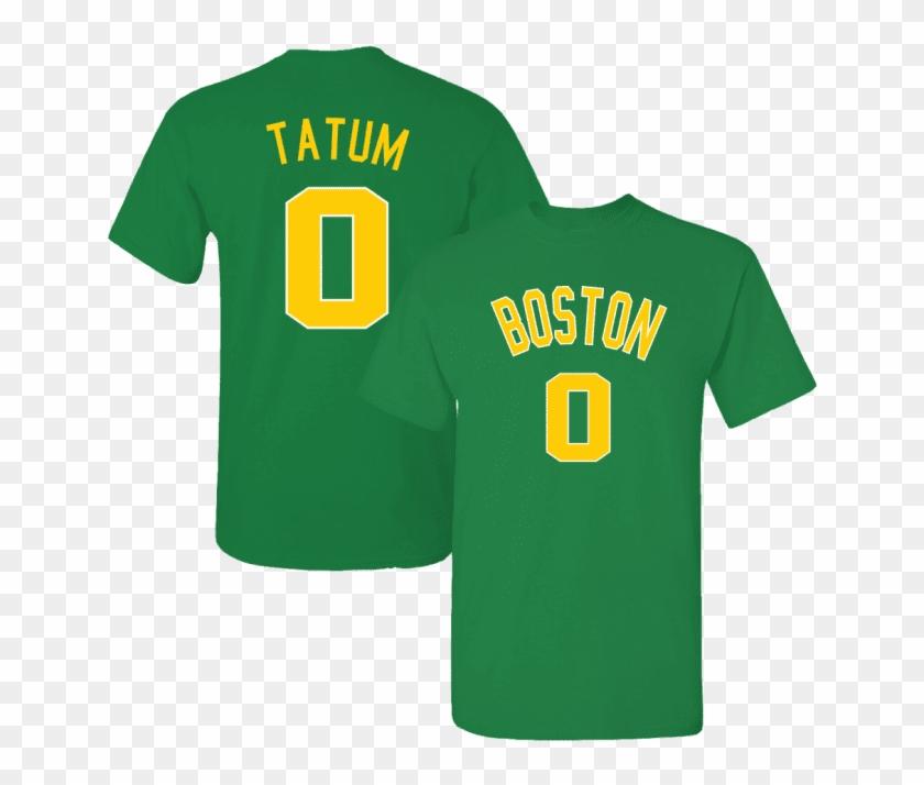 b5e9d80e411 Men s Boston Celtics Jayson Tatum 2018 City Edition - T-shirt