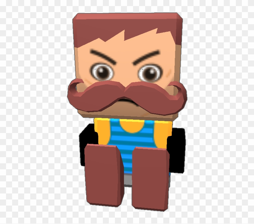 Neighbor From Hello Neighbor And Works Great - Cartoon, HD Png